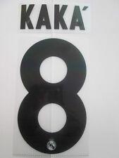 Kaka no 8 Real Madrid Football Shirt Name Set Kids Youth