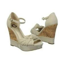 "Guess G by Tinseli platform sandals 4.7"" heel 9 Med NEW"