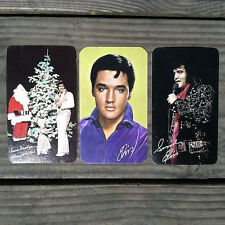 3 Diff Original 1966-78 ELVIS PRESLEY Pocket Calendars KING Rock n Roll NOS