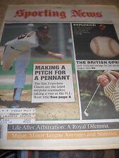 1986 The Sporting News Magazine - Mike Krukow San Francisco Giants Jack Nicklaus
