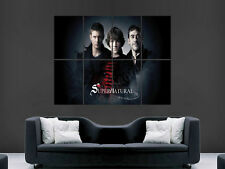 SUPERNATURAL GIANT WALL POSTER ART  PRINT LARGE HUGE PICTURE