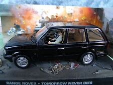1/43 RANGE ROVER  James Bond Tomorrow never Dies 007 series  diorama
