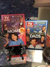 TV Guide TVs Greatest Moms DVD & TV's Greatest Dads 2 DVD Rare Case Maude + OOP