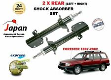 FOR SUBARU FORESTER 2.0 1997-2002 NEW 2 x REAR LEFT + RIGHT SHOCK ABSORBER SET