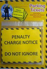 6 Fake Joke Prank Realistic Parking Tickets and bags. Great Fun.