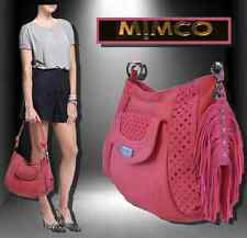 NEW MIMCO TRAPEZO HOBO BAG in HYDRANGEA LEATHER & SUEDE rrp $499 SALE PRICE $335