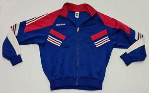Vintage Adidas Descente Japanese Release Red White Blue Jacket Streetwear L