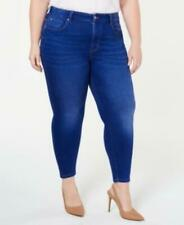$49 Celebrity Pink Trendy Plus Size High-Rise Skinny Ankle Jeans Blue Size 18W