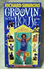 RICHARD SIMMONS GROOVIN' IN THE HOUSE Aerobic Concert Excercise VHS Video Tape