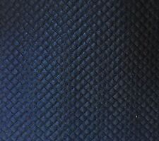 Navy Crepe Textured Effect Stretch Jacquard Jersey Fabric Bodycon 85cm REMNANT