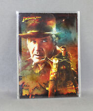 INDIANA JONES KINGDOM OF THE CRYSTAL SKULL No: 3 OF 10 FOIL CARD - NEW (TOPPS)