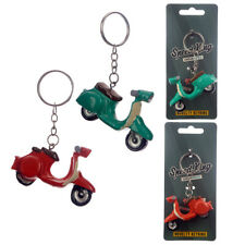Fun Collectable Scooter Vespa Moped Keyring Red  Vehicle Travel 1 Sent At Random