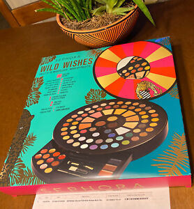 SEPHORA COLLECTION WILD WISHES MAKEUP PALETTE BLOCKBUSTER HOLIDAY 2020 GIFT BOX