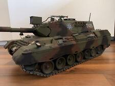 Tamiya Leopard A4 1:16 RC MetalI inklusive viel Zubehör Panzer Ferngesteuert