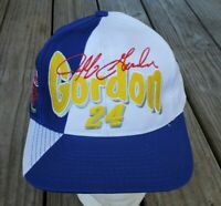 Vintage Jeff Gordon Dupont Refinish Racing Hat/Cap - Nascar Race Gear, NOS 90's