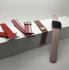 Apple Watch Series 2 38mm Rose Gold Aluminium inc 3 extra straps