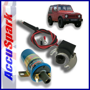 Suzuki S410 1982-1984  AccuSpark Electronic ignition kit /Coil