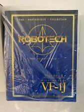 NEW 2002 Toynami Robotech Masterpiece Collection Vol. 1 VF-1J Rick Hunter + Cel