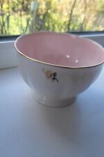 Queen Anne Sugar Bowl Fine Bone China 2nd Quality Pink British