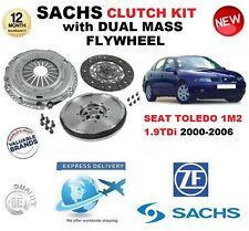 POUR SEAT TOLEDO 1M2 1.9TDi KIT EMBRAYAGE 130BHP 150BHP 00-06 w. VOLANT MOTEUR &