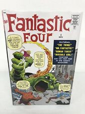Fantastic Four 4 Volume 1 by Stan Lee Marvel Comics Omnibus New Factory Sealed