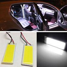 2pcs 12V 36-COB LED Xenon HID White Dome Map Light Bulbs Car Interior Panel Lamp