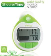 Efergy Showertime EF-015 Shower Timer Save Water Meter Energy Monitor LCD Clock