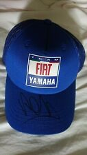 Valentino Rossi hand signed Fiat Yamaha Team rare alpinestars cap new unused