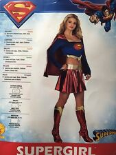 SUPERGIRL ADULT COSTUME SIZE EXTRA SMALL XS (2-6) RUBIES SUPERMAN