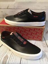 Vans Freamon OTW (Native) Black Leather/Marshmallow Mens 11