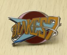 BLAKES 7 TV SCI-FI SOUVENIR ENAMEL PIN BADGE - VERY RARE DOCTOR WHO BRAMD NEW