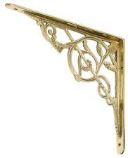 Decorative Bracket For Shelf - Brass 310mm x 260mm