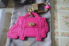 "**STUNNING** BRAND NEW in Box Mulberry ""ALEXA"" Leather Bag Charm keyring"