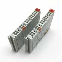 Lot of 2 Wago 750-514 Output Module, 2-Channel Relay, Rating: 125VAC 0.5A