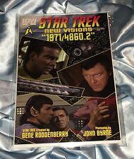 STAR TREK NEW VISIONS~1971/4860.2~CAPTAIN KIRK/WILLIAM SHATNER~NIMOY/SPOCK~NM