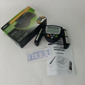 Omron Fat Loss Monitor HBF-306C Digital Display Body Fat & Mass Index Fitness