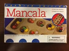 Mancala Wood Folding Game Board Cardinal Premier Edition Complete 2000