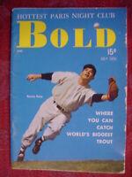 BOLD Pocket Magazine July 1955 FERRIS FAIN Paris LIDO MITCH MILLER