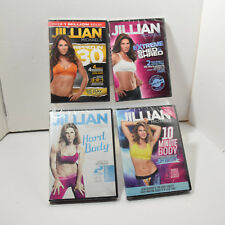 Jillian Michaels Ripped in 30 Hard Body Extreme Shed & Shred 10 Min Body New Set