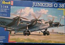 1996 REVELL 04203 - LUFTHANSA JUNKERS G 38 1:144 - PLASTIC MODEL KIT