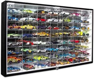 Hot Wheels Matchbox 1/64 Scale Diecast Metal Car Collecting Case 56 Cars Storage