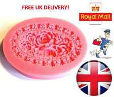 Rose Flower Silicone Mould Fondant Cake Topper Modelling Tools Sugar-craft Art