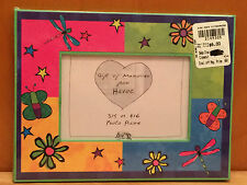 NEW Havoc PHOTO PICTURE FRAME Paperboard 3x5 or 4x6 Butterflies Flowers Stars