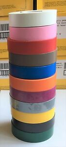 """3/4"""" x 66 Ft - General Purpose Electrical Tape - Rainbow  Pack of 11 Rolls"""