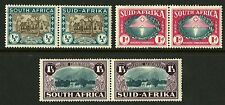South Africa  1939  Scott # B9-B11  Mint Hinged Set