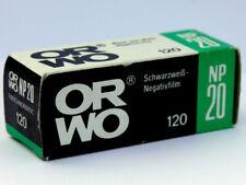 ORWO NP20 Film • ISO 80 • 120 Film • b/w negative • Rollfilm • Expired Vintage