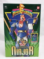 Power Rangers Deluxe transforming Ninjor Actionfigur Bandai / Mint in sealed Box