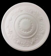 Plaster Ceiling Rose. Rose Crown Design. Free Delivery. CP26