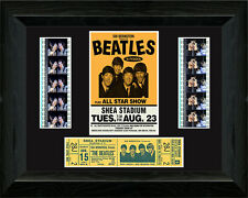 The Beatles at Shea Stadium filmcell with TICKET !!!!!