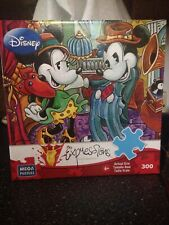 Disney Expressions Mickey & Minnie Mouse Dapper Dandies Puzzle Retired Complete